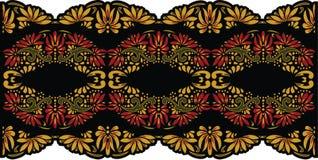 Arte popular hermoso, decoración floral foto de archivo libre de regalías