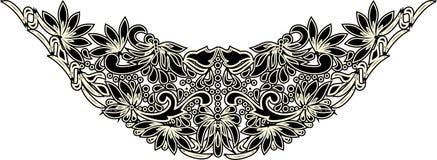 Arte popular hermoso, decoración floral imagen de archivo