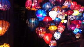 Arte popular: loja da lanterna de papel imagem de stock royalty free