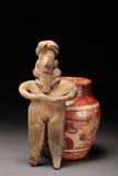 Arte precolombino. Fotos de archivo libres de regalías
