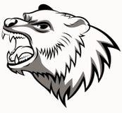 Arte principal del oso Fotografía de archivo