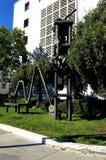Arte pubblica nei luoghi pubblici, corridoio di giustizia, 2 immagine stock libera da diritti