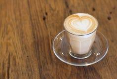 Arte recente del caffè Fotografia Stock