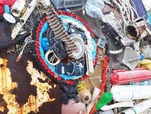 Arte reciclada Fotografia de Stock