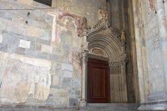 Arte religiosa medievale italiana Fotografia Stock Libera da Diritti