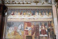 Arte religiosa medievale italiana Immagine Stock