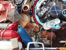 Arte riciclata Fotografia Stock Libera da Diritti