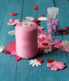 Arte rosado Fotografía de archivo