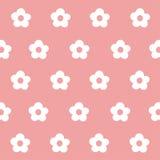 Arte senza cuciture del fiore bianco del modello Fotografia Stock