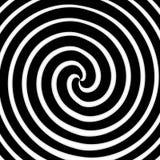Arte a spirale Fotografie Stock