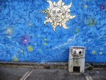 Arte sudamericana della via, città di Guayana, Venezuela immagine stock