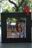 Arte sulla via fotografie stock