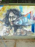Arte suramericano de la calle, Venezuela Imagen de archivo