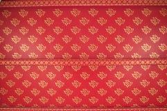 Arte tailandés abstracto del estilo de la parte posterior del tejado fotografía de archivo