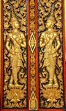 Arte tailandés antiguo Fotos de archivo