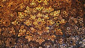 Arte tailandés de oro Foto de archivo