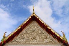 Arte tailandés del moldeado del estilo imágenes de archivo libres de regalías