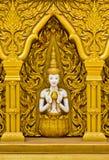 Arte tailandés en la pared Imagen de archivo