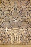 Arte tailandés tradicional de la pintura del estilo Imagen de archivo