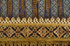 A arte tailandesa da textura fotografia de stock royalty free