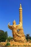Arte tailandesa do molde do estilo Fotografia de Stock