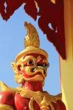Arte tailandesa do templo Foto de Stock Royalty Free
