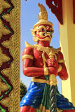 Arte tailandesa do templo Fotografia de Stock Royalty Free