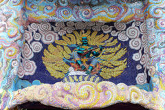 Arte tailandesa em Wat Ban Rai Fotografia de Stock Royalty Free