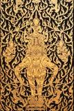 Arte tailandese antica Fotografia Stock