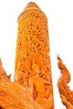 Arte tailandese del modanatura di stile Immagine Stock Libera da Diritti