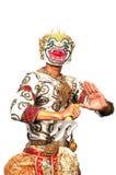 """Arte tailandese di dancing della cultura nel  mascherato del """"Khon†di cui di alta classe Immagini Stock"""