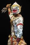 """Arte tailandese di dancing della cultura nel  mascherato del """"Khon†di cui di alta classe Fotografia Stock Libera da Diritti"""
