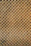 Arte tailandese di struttura e del fondo dorati brillanti delle mattonelle della parete Fotografia Stock Libera da Diritti