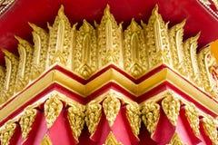 Arte tailandese, stile tailandese del corinthian Fotografia Stock