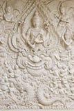 Arte tailandese tradizionale del modanatura di stile Immagini Stock Libere da Diritti