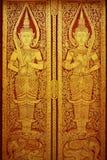 Arte tailandese tradizionale della pittura di stile Fotografie Stock