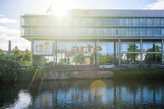 Arte Television Headquarter ? Strasbourg image stock