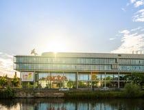 Arte Television Headquarter ? Strasbourg images stock