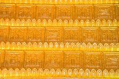 Arte in tempiale tailandese, Wat Prathatnongbua Immagini Stock
