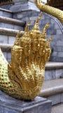 Arte in tempio, Tailandia Fotografia Stock
