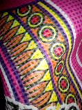 Arte, teste padrão colorido, projetado, textured, completo Foto de Stock Royalty Free