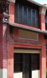 Arte tradicional de uma casa chinesa Foto de Stock