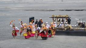 Arte tradicional Yadnya Kasada Imagem de Stock Royalty Free