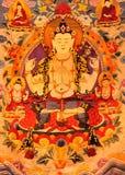 Arte tradizionale del Tibet Immagine Stock Libera da Diritti