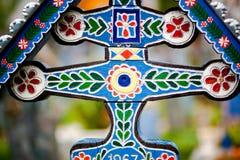 Arte transversal do cemitério Imagens de Stock