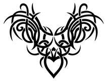 Arte tribal, asas Fotografia de Stock Royalty Free