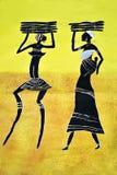 Arte tribale Fotografie Stock Libere da Diritti
