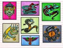 Arte tribale Fotografia Stock Libera da Diritti