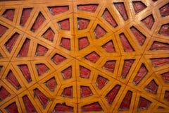 Arte turca dell'ottomano con i modelli geometrici Fotografie Stock