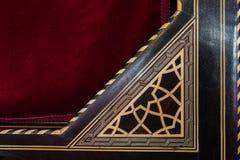 Arte turca dell'ottomano con i modelli geometrici Immagine Stock